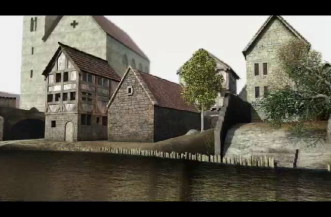 animation film about the construction of the medieval mikveh.